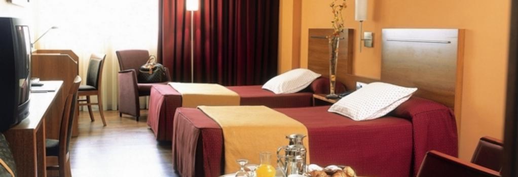 アクタ アートホテル - Andorra la Vella - 寝室
