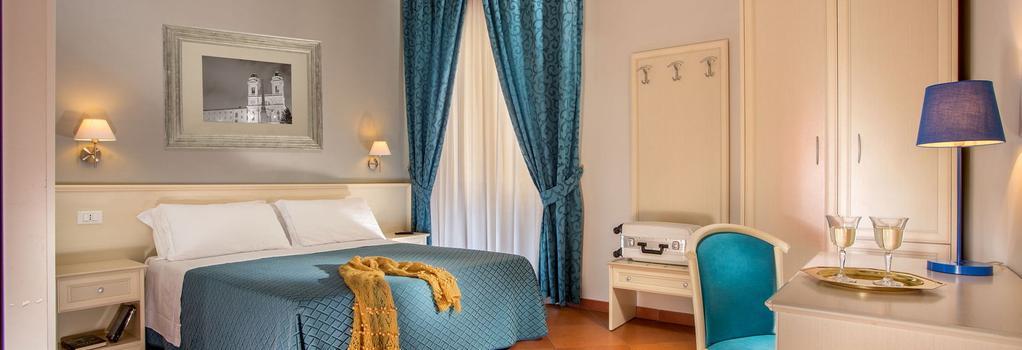 オッタヴィアーノ ゲストハウス - ローマ - 寝室