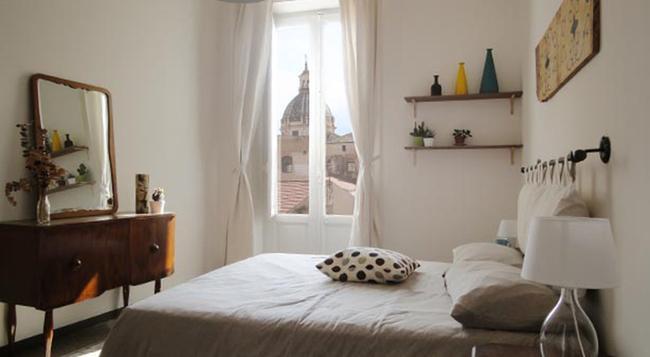 セラフィーノ B&B - パレルモ - 寝室