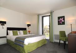 ホテル レ ランシェ - シャモニー・モンブラン - 寝室