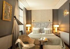 ホテル テレーズ - パリ - 寝室
