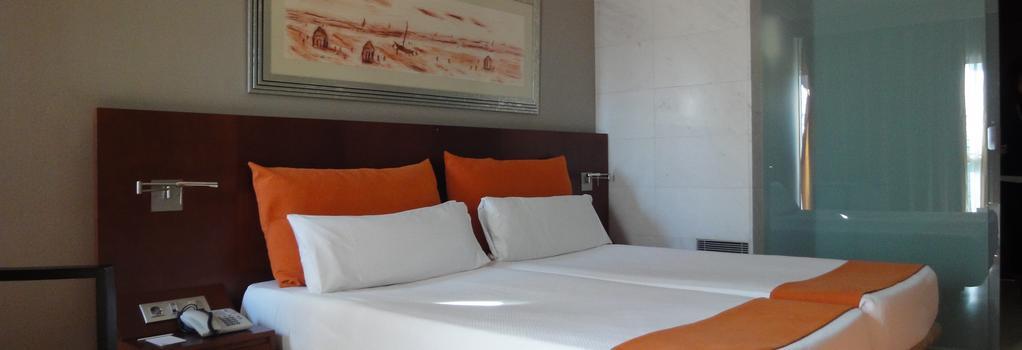 ユーロホテル バルセロナ グランヴィア フィラ - L'Hospitalet de Llobregat - 寝室