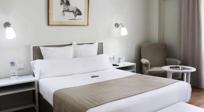 ホテル ヘレス&スパ - ヘレス・デ・ラ・フロンテーラ - 寝室