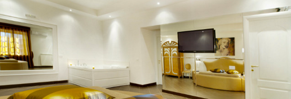 Hotel Il Quadrifoglio - ローマ - 寝室