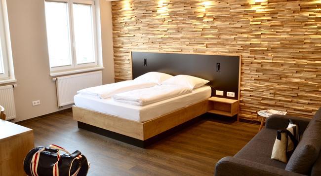 ホテル ファイブ - ニュルンベルク - 寝室