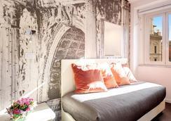 アルベルゴ アブルッツィ - ローマ - 寝室