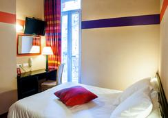 オテル サン ソーヴール - ルルド - 寝室