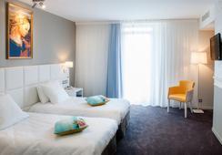 ホテル シャペル エ パルク - ルルド - 寝室