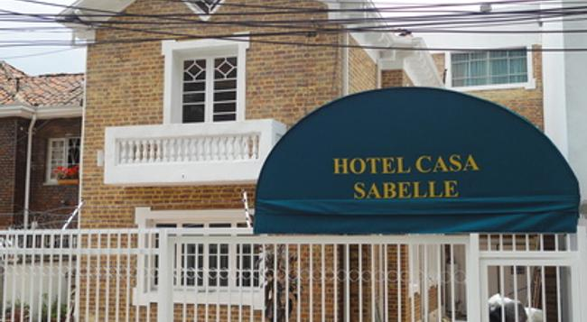 Hotel Casa Sabelle - ボゴタ - 建物