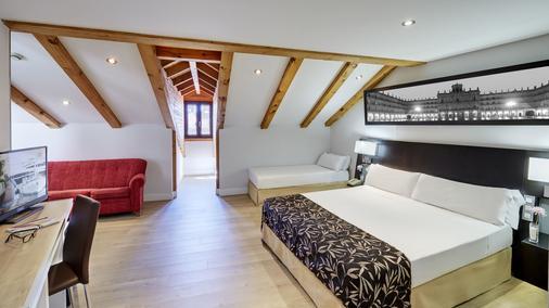 ホテル セルコテル ラス トレス サラマンカ - サラマンカ - 寝室