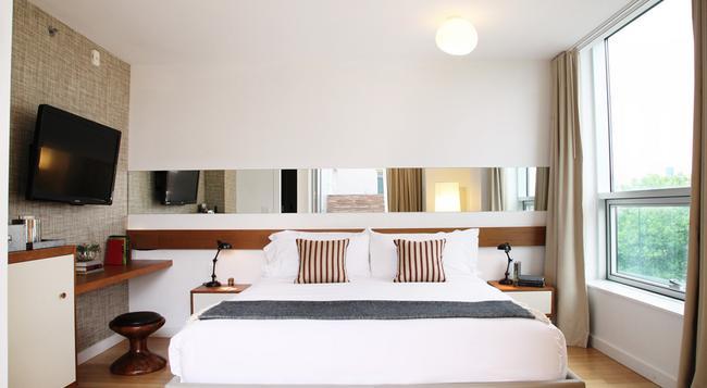 マッカラン ホテル & プール - ブルックリン - 寝室