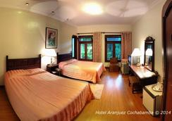 Hotel Aranjuez Cochabamba - Cochabamba - 寝室