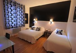ホテル イタリア - トゥール - 寝室