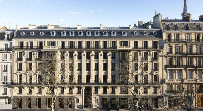 ラ クレフ トゥール エッフェル - パリ - 建物