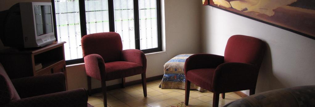 ホテル カサ エチャバリア - サンホセ - リビングルーム
