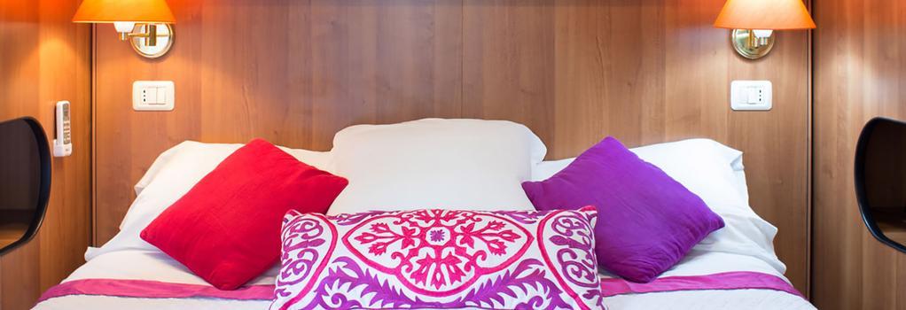 ホテル アイヴァンホー - ローマ - 寝室