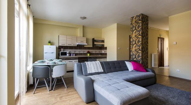 Grand Budapest Penthouse - ブダペスト - 寝室