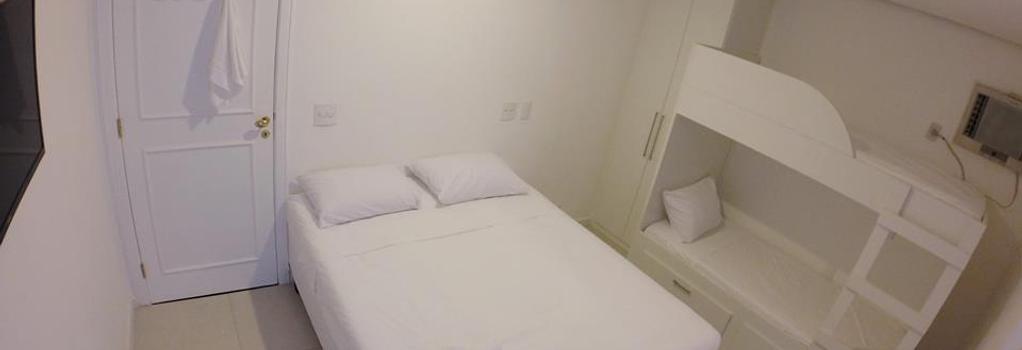 レフ ハウス バラ ダ チジューカ - リオデジャネイロ - 寝室