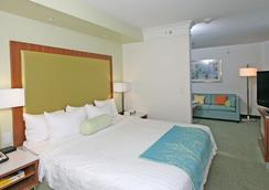 SpringHill Suites by Marriott Charleston North-Ashley Phosphate - North Charleston - 寝室