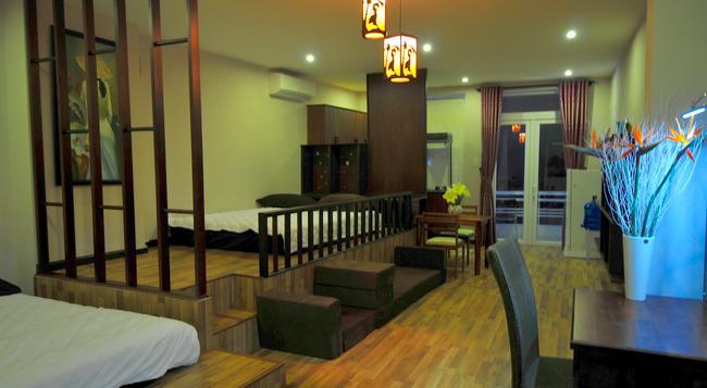 カナリー ホアン エン ブティック アパートメント - ニャチャン - 寝室