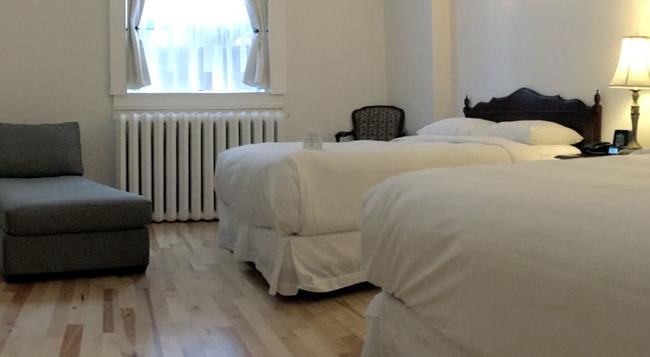 ホテル アンブローズ - モントリオール - 寝室