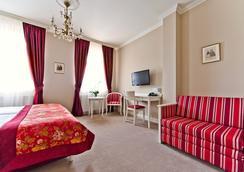 Hotel Schanel Résidence - ジェシュフ - 寝室