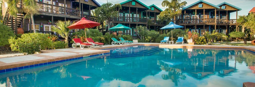 X'Tan Ha - The Waterfront Resort - San Pedro Town - プール