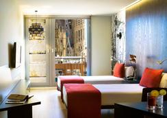 エア ホテル ロセリョン - バルセロナ - 寝室
