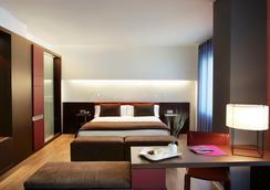 エア ホテル グラン ビア - バルセロナ - 寝室