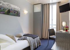 ホテル ボーマルシェ - パリ - 寝室
