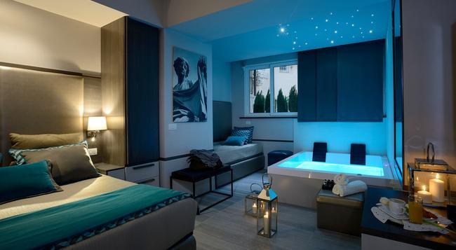 San Carlo Suite - ローマ - 寝室