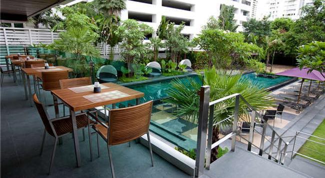 スクムウィット 12 バンコク ホテル & スイーツ - バンコク - プール