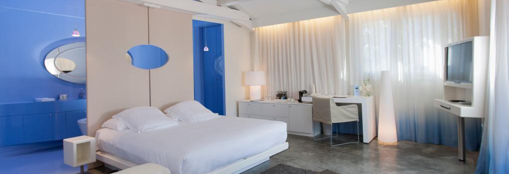 ベンキライ ホテル - サントロペ - 寝室