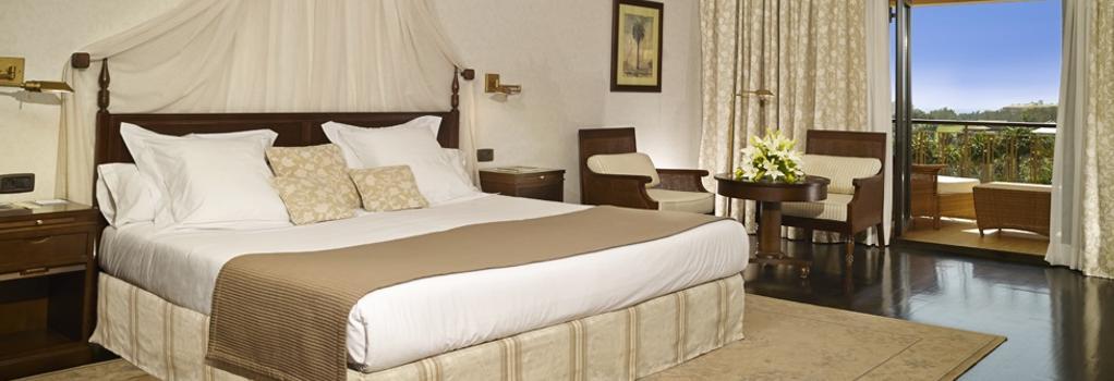 Hotel Las Madrigueras - アロナ - 寝室