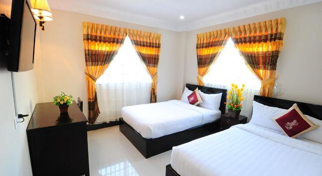 ナンバー 9 ホテル - Phnom Penh - 寝室