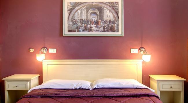 ホテル ジェンチィアネッラ - フィレンツェ - 寝室