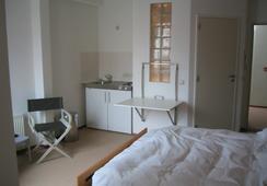 Wake-Up Sandwich Hotel - アントワープ - 寝室