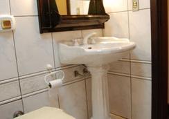 Hotel Pequeno Bosque - グラマド - 浴室