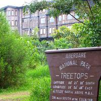 Treetops Hotel Entrance