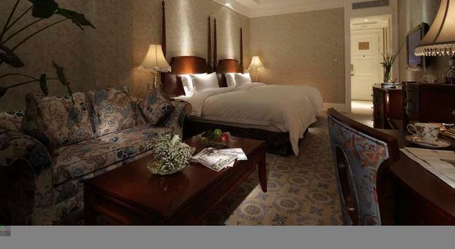 Kingrace Hotel - Changshu - 寝室