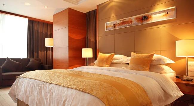 Noble Crown Hotel - Wuxi - 無錫 - 寝室