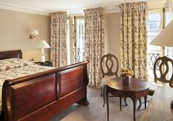 ホテル デュ ダニューブ サン ジェルマン - パリ - 寝室