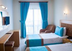 Sipark Boutique Hotel - グムベット - 寝室