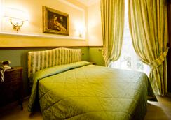 ホテル ドナテッロ - ローマ - 寝室