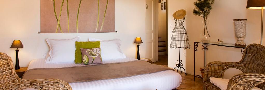 ラ クレ デ シャン - ルシヨン - 寝室