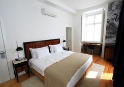 リスボア プラータ ブティックホテル - リスボン - 寝室
