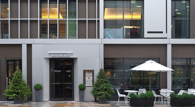 サウス プレイス ホテル - ロンドン - 建物