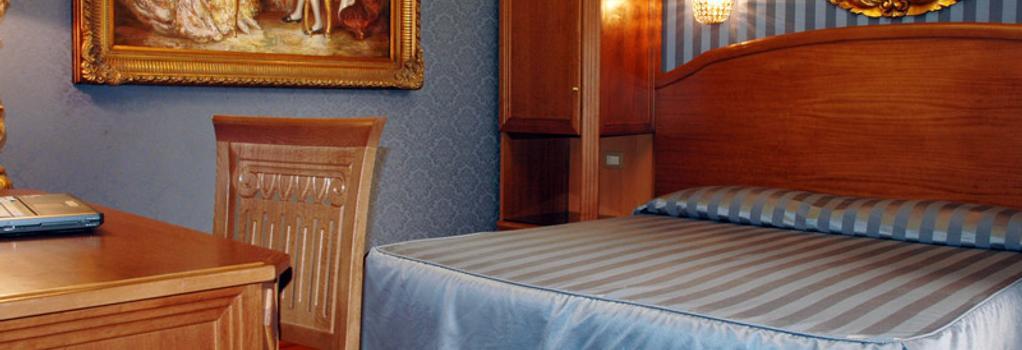 レジデンツァ モンテチトーリオ - ローマ - 寝室