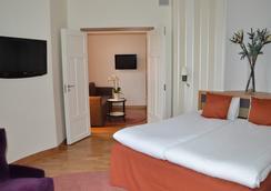 エリート ホテル アドロン - ストックホルム - 寝室