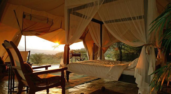 Cottar's 1920s Safari Camp - Masai Mara - 寝室